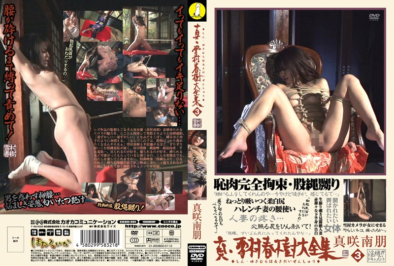 CAOH-021 Collection of Makoto, Yukimuraharuki perfection 3 Masakinao - Training, Slender, Nao Masaki, Married Woman, Bondage, Bitou Ren, BDSM