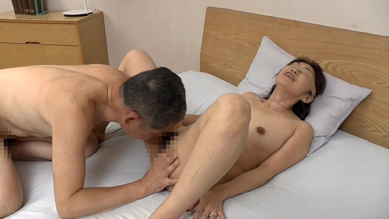 Middle age couple having sex