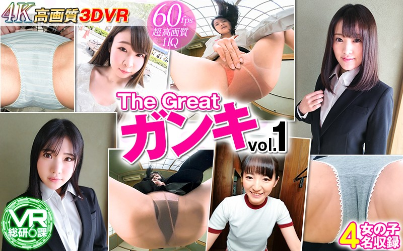 D-015 【VR】The Great ガンキ vol.1