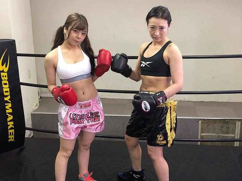 FS-017 悶絶ボクシング002 岬あずさvs神納花