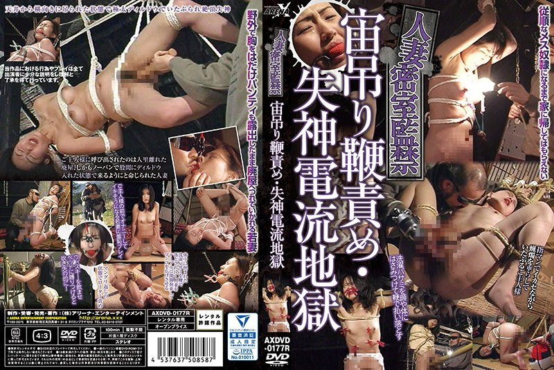AXDVD-0177r Married Behind Closed Doors Imprisonment Suspended Whip Blame-syncope Current Hell